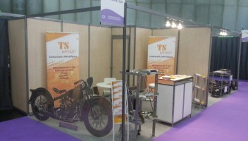 TSwaterjet Stand - Midest Fair